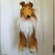 Collie Dog Puppet Marionette Fairyland Plush