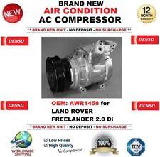 Denso CLIMATISATION ca COMPRESSEUR OEM: AWR1458 pour Land Rover Freelander 2.0