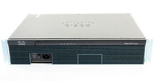 Cisco 2911 Integrated Services Router hardware-accelerated VPN, DSP, 512MB RAM