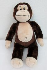 "Build-A-Bear Workshop BABW 18"" Silky Soft Brown Monkey Plush"