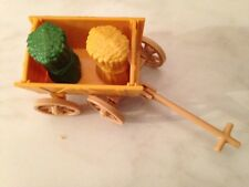 collector PLAYMOBIL charrette et 2 meules foin parfait état  occasion