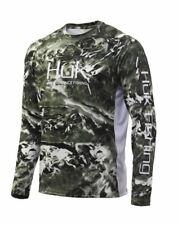 Huk Mossy Oak Pursuit Long Sleeve Mossy Oak Hydro Freshwater