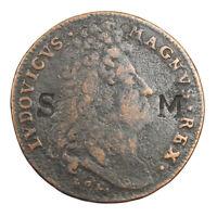 Jeton Louis XIV 1674 victoire de Seneffe Pugna Ad Senessam Contremarque SM