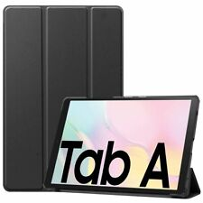 Flip Case For Samsung Galaxy Tab A7 2020 T500 Tablet 3-Fold Leather Stand Cover