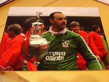 Bruce Grobbelaar Signed 16x12 Liverpool FC Photo