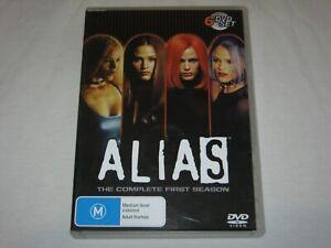 Alias - Complete Season 1 - 6 Disc Set - VGC - Region 4 - DVD