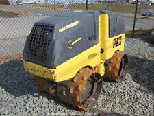 "2016 Bomag Bmp8500 24"" / 33"" Vibratory Trench Roller Compactor Remote bidadoo"