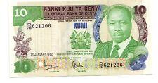 Kenya   10 scellini    1982   FDS Unc   pick 20b  lotto   2549