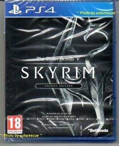 The Elder Scrolls V Skyrim Special Edition  'New & Sealed'  *PS4(Four)*