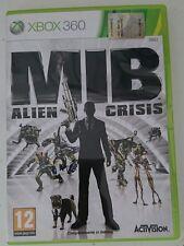 Men In Black: Alien Crisi MICROSOFT XBOX 360 ITALIA COME NUOVO COMPLETO MIB