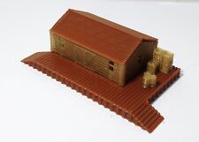 Outland Models Train Railway Layout Warehouse  Freight Depot Z Scale 1:220