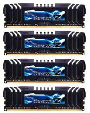 G.Skill RipJawsZ 32 GB (4x8GB) DDR3 PC3-19200U F3-19200CL10Q2-64GBZHD #311000