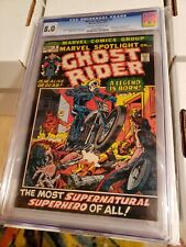 Marvel Spotlight 5 CGC 8.0  1st Ghost Rider