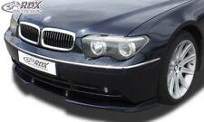 RDX Spoilerlippe für 7er BMW E65 E66 BIS Bj. 2005 Front Ansatz Schwert Lippe