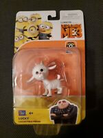 NEW Despicable ME 3  Lucky the Goat Toy mini figure Poseable Gru Thinkway Toy