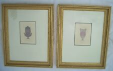 """Two Framed Antique Prints from Henry Moses' folio """"Antique Vases"""" 1814 #s38 &122"""