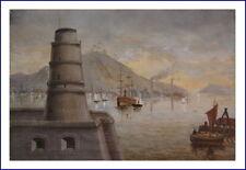 Künstlerische Realismus aus Holz mit Öl-Technik von 1800-1899