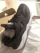 Nike Air Huarache shoes, size 12 US, brand new in box. not my size. black.