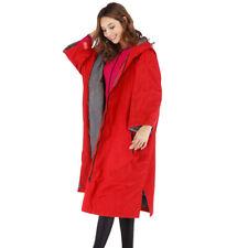 Hooded Waterproof Windbreaker Sports Anorak Winter Snow Coat Changing Robe