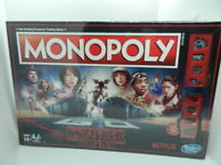 Netflix Stranger Things Monopoly Board Game NEW Hasbro Netflix