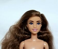 New ListingBarbie Doll Fashionistas Nude Brown Curly Hair Blue Eyes Freckles Mattel New