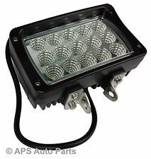 45W 15 LED Work Light Lamp Flood Beam Jeep Tractor 4X4 Truck Bright 12v 24v CE