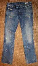 Ripped/frayed Diesel L30 Damen-Jeans