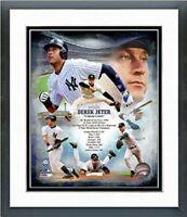 Derek Jeter New York Yankees Legends Composite Photo (Size: 12.5 x 15.5) Framed