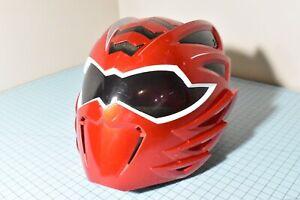 POWER RANGERS Jungle Fury Mega Mission Red Ranger Helmet Lights & Sound WORKS