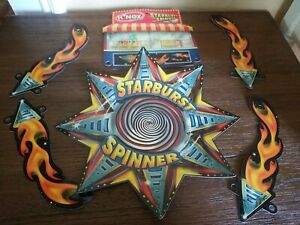 KNEX  STARBURST SPINNER REPLACEMENT CARDBOARD PIECES LOT OF 6