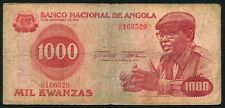 Angola 1000 kwanzas 1979.08.14. Antonio Agostinho Neto & School Class P117 F
