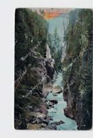 PPC POSTCARD CANADA BRITISH COLUMBIA VANCOUVER CAPILANO CANYON BIRDS EYE VIEW