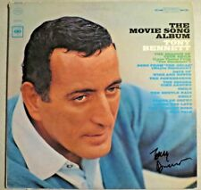 Tony Bennett Signed Autographed The Movie Song Album Vinyl Record