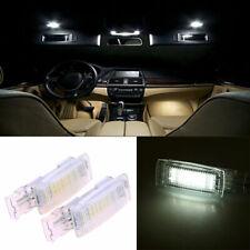 2PCS LED Interior Visor Vanity Mirror Light Lamp Fit VW Jetta Passat Tiguan Golf