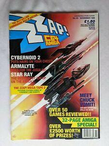 ZZAP! 64 Issue 43 in Very Good condition Commodore 64 Retro Gaming