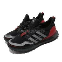 adidas UltraBOOST Guard Black Grey Red Men Running Training Shoes Sneaker FU9464