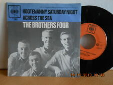 "7"" 1963 RARE ! THE BROTHERS FOUR - Hootenanny Saturday Night / Across The Sea"