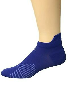 adidas Running Tabbed No Show Sock Single (Mystery Ink Blue/Real Lilac) Size L