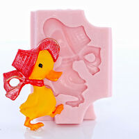 Duck Silicone Mold Flexible easy to use Chocolate Fondant Resin Clay Mold (850)