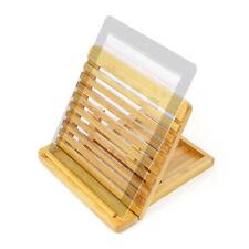 Ajustable Soporte Ipad Tablet/Soporte de montaje de escritorio Organizador hecho de bambú