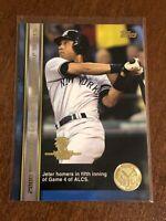 2000 World Series Topps Baseball Base Card #78 - Derek Jeter - New York Yankees