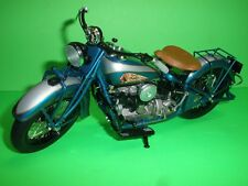 DANBURY MINT 1939 INDIAN FOUR DIE CAST MOTORCYCLE - NEW IN BOX - 1:10 Scale