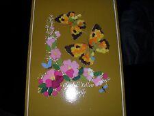 Hecho a mano Fieltro imagen (mariposas)