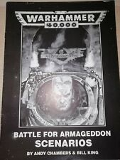 WH40K Games Workshop Warhammer 40k 2nd Edition Battle For Armageddon Scenarios