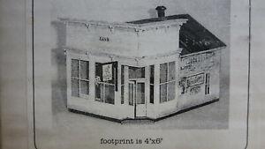 Banta Modelworks 4081 Silver Plume Bakery S/Sn3 Kit RARE OOP