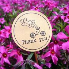 Chic 120 Pcs/set Bicycle Thank You Love Heart Paper Stationery Stickers