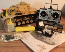 TORRO RC Panzer III Panzer 3 Ausf.H BB 6mm 1:16 Heng Long Rauch, Sound, Akku