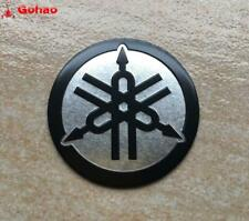 New Aluminum Tank Fairing Tuning Fork Badge logo Emblem Decal Sticker for Yamaha