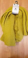 Ladies Chunky Knit Long Scarf