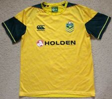 NEW Australia Kangaroos Rugby League Training Jersey - CCC - Mens Size L Large